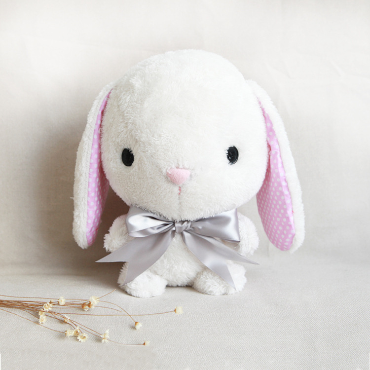 Us 11 98 Make Your Own Soft Toy Amuse Pote Usa Loppy Bunny Sewing Kit Diy Plush Rabbit Present For Kids Simple Pattern Tutorial Included In Stuffed