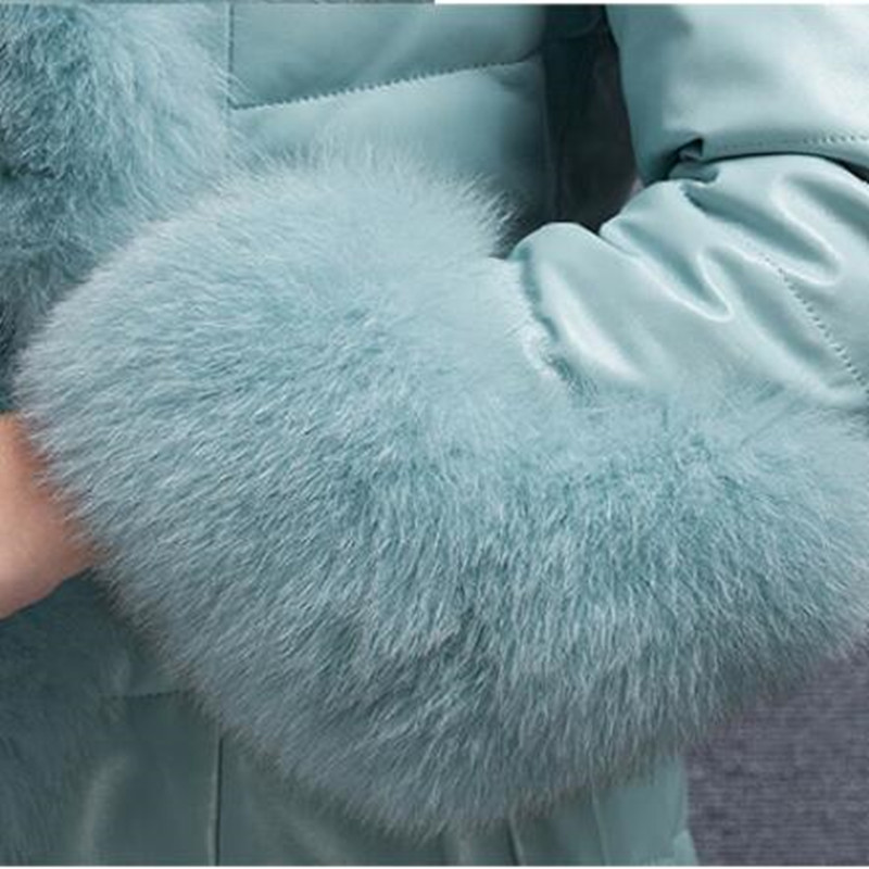 Herbst Winter Mode Mantel Dicke Warme Frauen Faux Fuchs Pelz Weste Hohe-Grade Jacke Colete Feminino Plus Größe 4XL