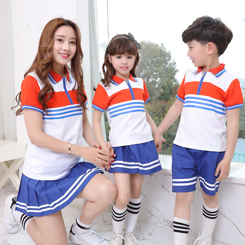 2016 New Kindergarten Service Uniforms Costumes Children Suit Summer Class