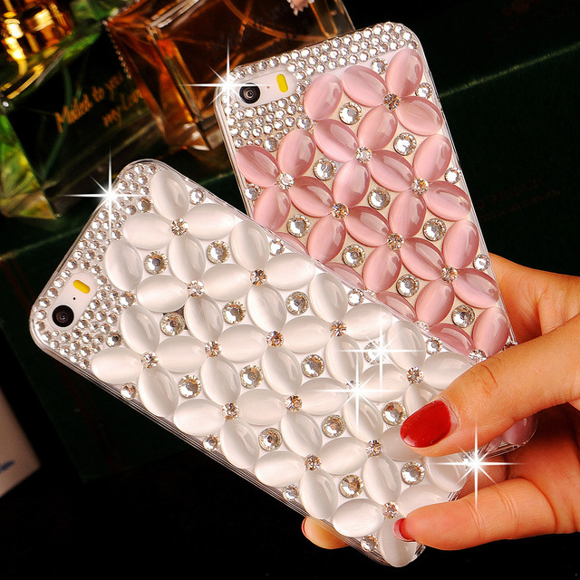 Shining Diamond Opal Phone Case For Huawei P30 P20 P10 Plus Pro Lite Phone Back Cover For Huawei Honor 10 9 V10 Cases
