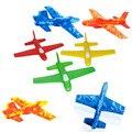 EVA lanzar aviones mini vuelo planeador avión de juguete de mano de la vendimia pequeño avión modelo de juego de Los Niños al aire libre Funde Vehículos De Juguete