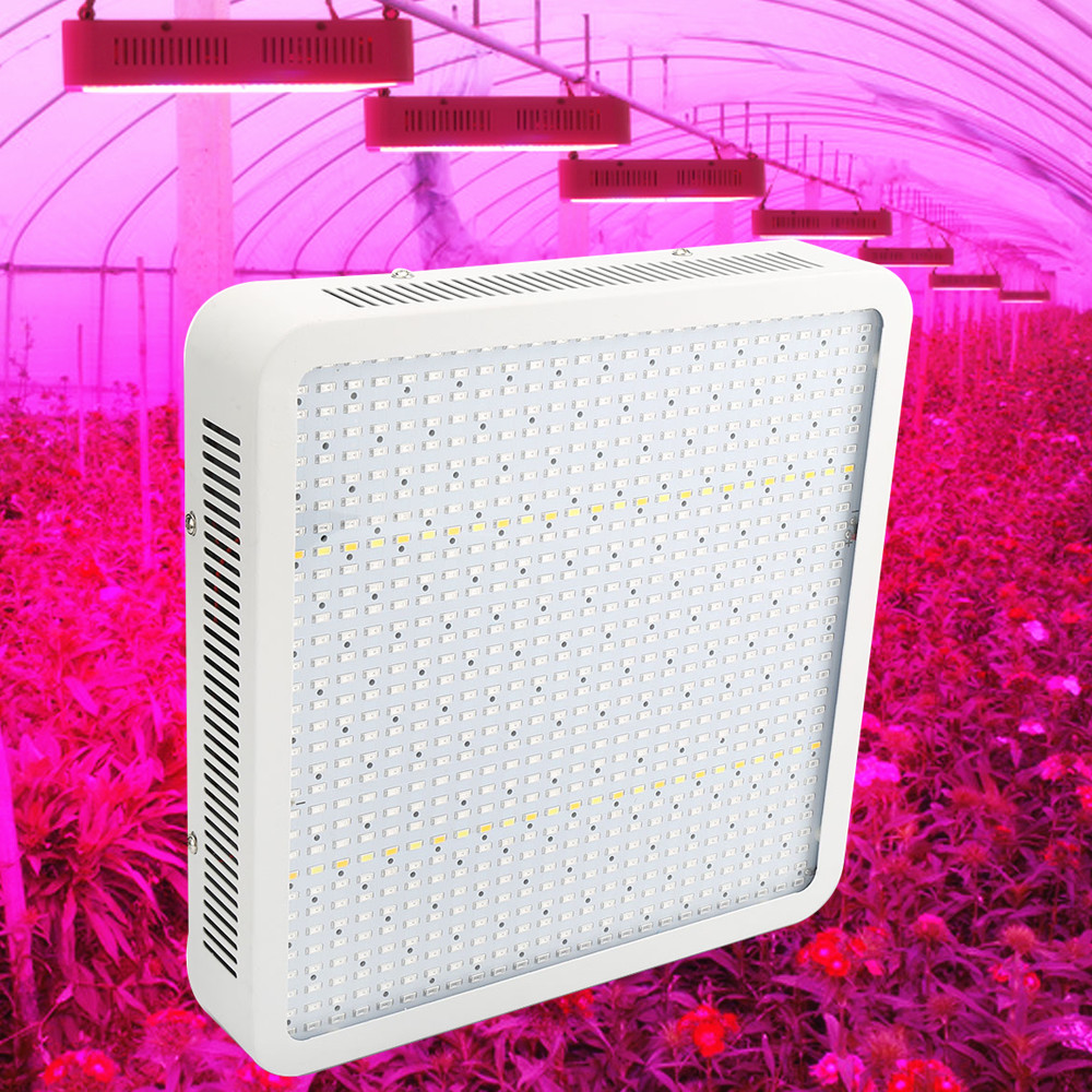 Full Spectrum 800W LED Grow Light Red/Blue/White/UV/IR AC85~265V SMD5630 Led Plant Lamps Best For Growing and Flowering new 8 band 50w 100w 50 2w grow light led chip full spectrum led red blue uv ir white for indoor plant seeding growing flower