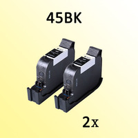 2x For Hp45 For Hp 45 51645A Deskjet 1180C 1220 6122 6127 9300 932C 935C 950C