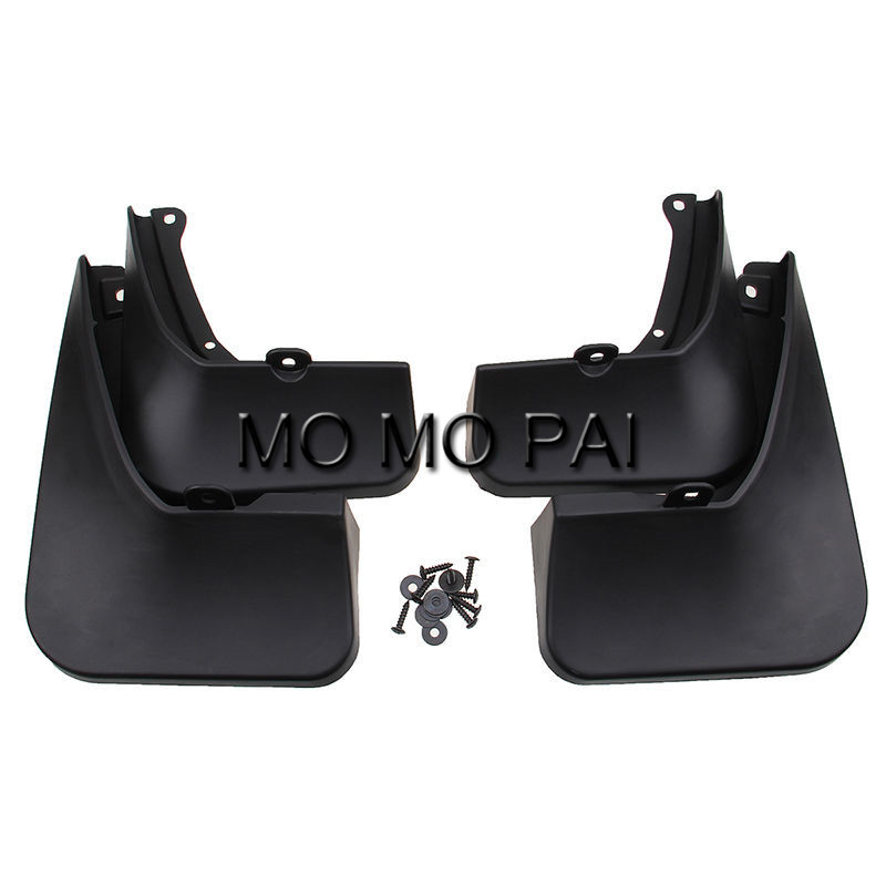 CAR fender Fit for Toyota Highlander 2015 2016 2017 SUV Mud Flaps Splash Guards Mudguard Mudflaps Durable 4 pcs / Set MO MO PAI