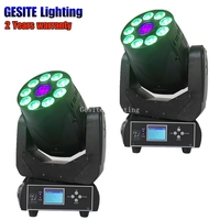 75w rgbw DMX Spot Wash Mixing Moving Head light with Digital display