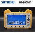 SH-900HD Sathero DVB-S2 Metros Buscador de Satélite Digital HD Spectrum Analyzer y Función de Prueba De Vigilancia Digital Coaxial