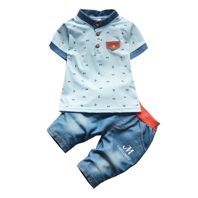 Bibicola Baby Boys Summer Clothing Set