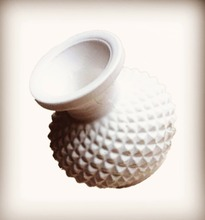 three dimensional vase silicone mold aromatherapy gypsum clay mould Hand Making molds