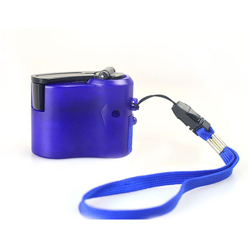 Outdoor Emergency Portable Hand Power Dynamo Hand Crank USB Charging Charger Camping Backpack Survival Gear