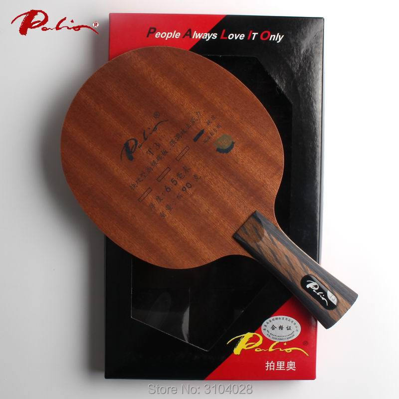Palio Official T-3 T3 Table Tennis Blade Carbon Blade Fast Attack With Loop Attached Blade Palio Blade Racket Ping Pong