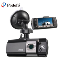 Podofo Novatek 96650 Car Camera DVR AT500 Dashcam Full HD 1080P Video Registrator Recorder G sensor Night Vision Dash Cam