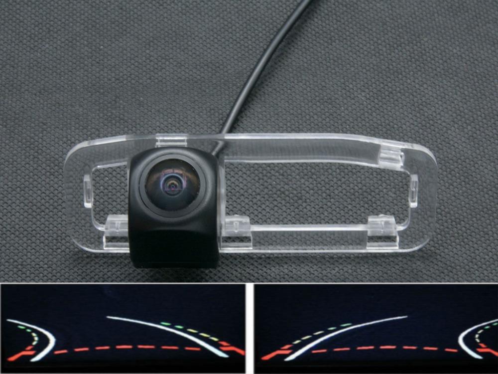 Trajectory Tracks 1080P Fisheye Lens Car Rear view Camera for kia RIO 2007 2008 2009 2010 2011 2012 Waterproof Reverse Camera