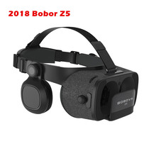 New BOBOVR Z5 Virtual Reality Glasses with VR Box 3D Headset glasses Cardboard Full package and GamePad for iOS Android phone