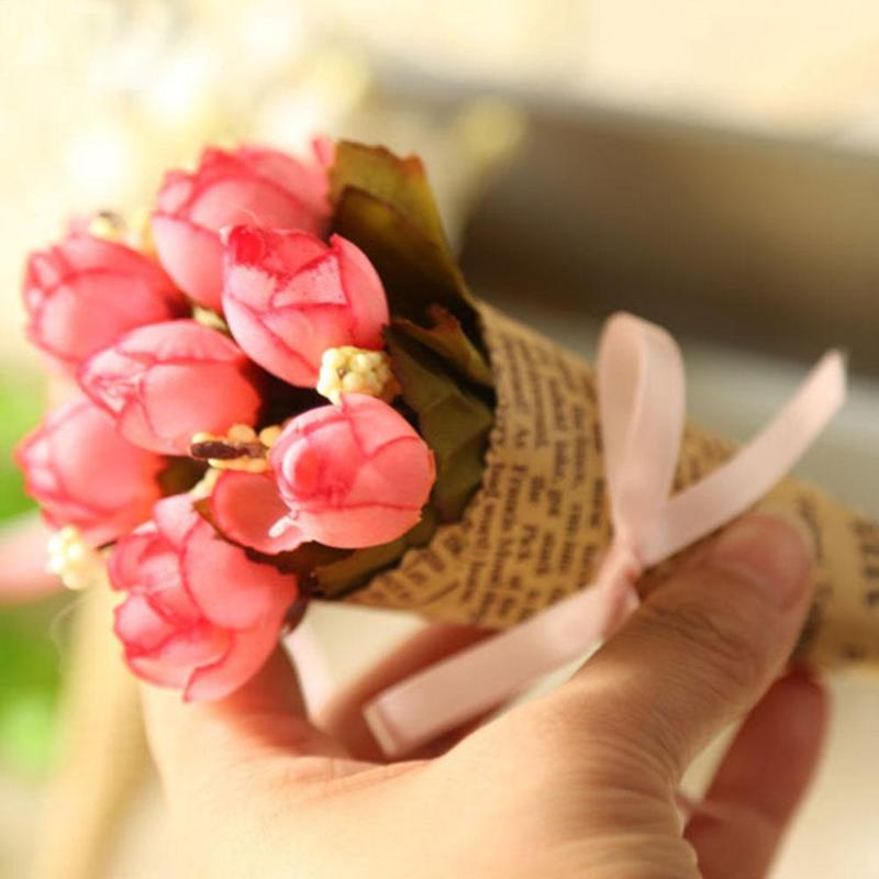 Flower packaging paper kraft paper cones bouquet candy boxes flower packaging paper kraft paper cones bouquet candy boxes birhtday wedding party gift supplies wrapping paper fes7038 in party diy decorations from home mightylinksfo