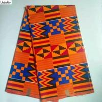 Kente Ankara Wax Java Fabric Hot Sale ! Holland Wax Prints African Fabric 100%cotton 6yards/lot For DIY Fashion Sewing B93 19