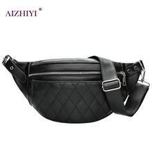 Män midja väskor PU läder män kvinnor solid dragkedja hög kvalitet midja väska Fanny pack bum bälte väska bröstväska Masculina Bolsos Mujer