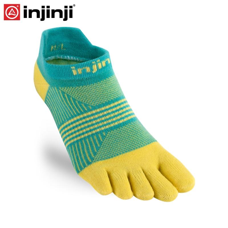Injinji Toe Socks 2019 Run Lightweight No-Show Five-finger Running Socks Women