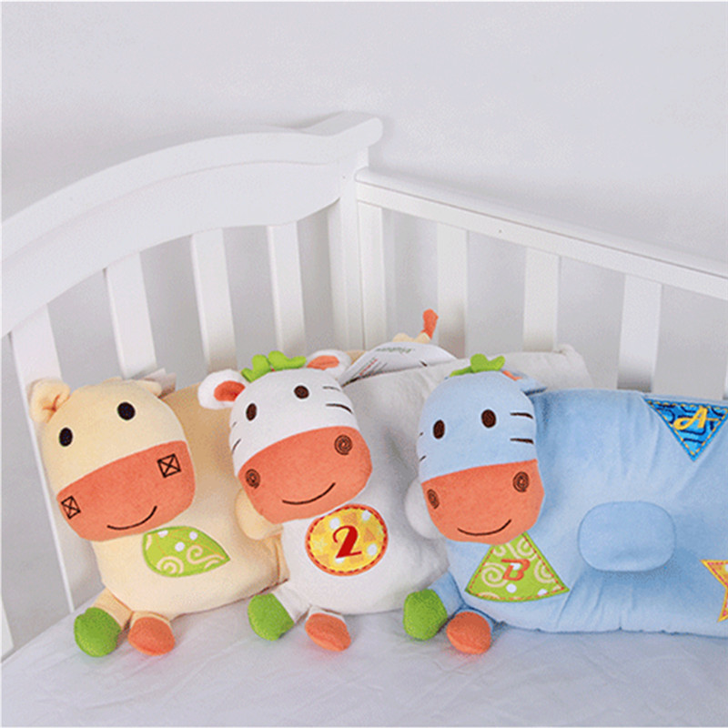 Baby Bedding Cute 0-3 Years Old Baby Headrest Multifunctional Cartoon Animal Baby Pillow For Baby Sleep Hot Sale 50-70% OFF