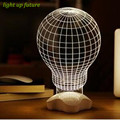 modern fashion 3D board led moon light rose/dimond/hearts  led table lamp with USB N1218