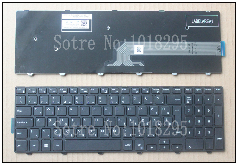 Hungary HU laptop Keyboard for Dell Inspiron 15 3000 5000 3541 3542 3543 5542 3550 5545 5547 15-5547 15-5000 15-5545 17-5000 wzsm new laptop lcd lvds cable for dell inspiron 3541 3542 15 3000 video cable p n 450 00h01 0021 0fkgc9