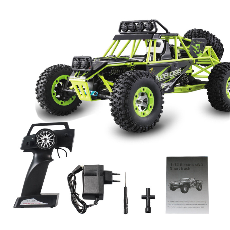 High Quality WLtoys 12428 Remote Control Car 2.4G 1/12 4WD Crawler RC Car With LED Light RTR High Speed Drit Bike vehicle wltoys k969 1 28 2 4g 4wd electric rc car 30kmh rtr version high speed drift car