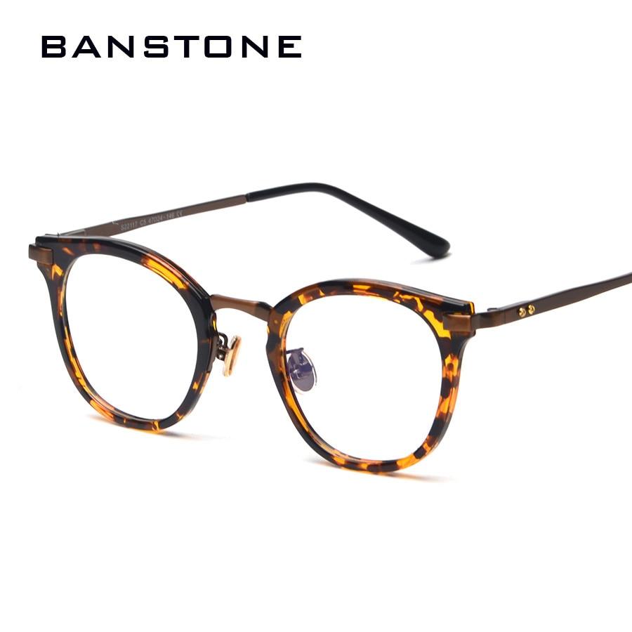 Banstone mode auge rahmen männer retro runde brillen männer cool ...