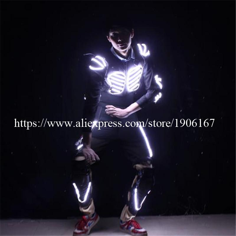 LED Costume LED Clothing Light suits LED Robot suits david robot08