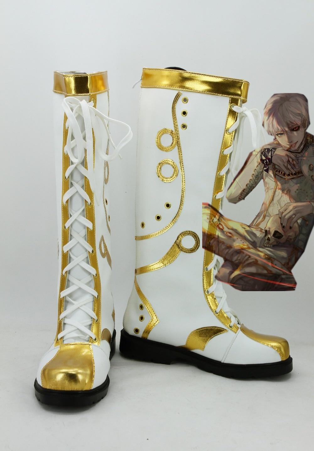 Tokyo Ghoul Ken Kaneki Ghoul King Cosplay Shoes Boots Halloween Carnival