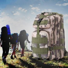 2017 New Quality Men Women Waterproof Nylon Backpack Bags Outdoor Camping Hiking Trekking Military Tactical Backpack