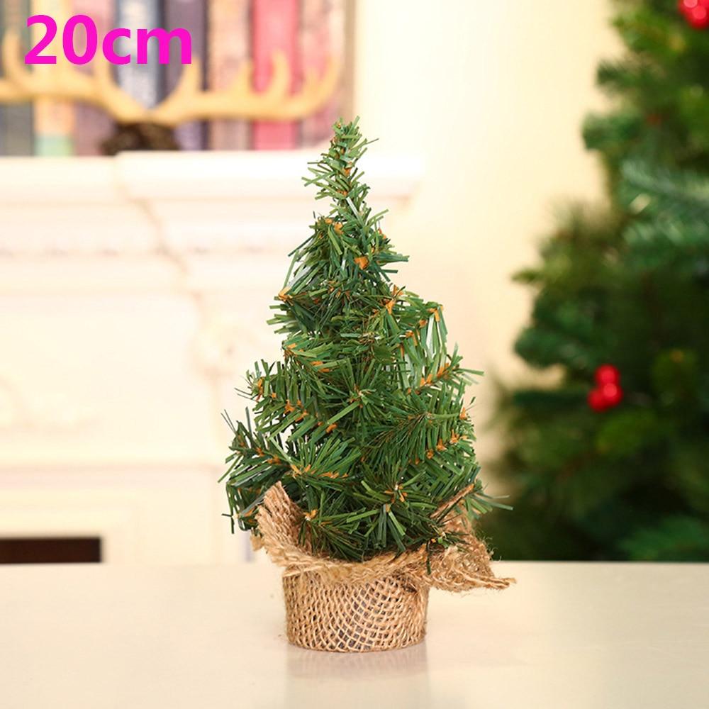 Artificial Christmas Tree Decoration Small Xmas On Desk Tree 10-30cm