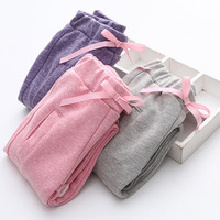 Spring Autumn Cotton Baby Girls Elastic Waist Sports Pants Kids Children Trousers Girls Clothes Kids Casual