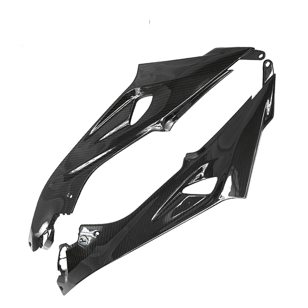 <font><b>Carbon</b></font> <font><b>Fiber</b></font> Motorcycle Full Fairing Kits Tank Side Panel Cover for <font><b>BMW</b></font> <font><b>S1000rr</b></font> 2015-2018 image