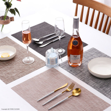 Quality Table Placemats Pack of 4Pcs Heat-resistant Mats Anti-skid Washable Dining Table Place Mats Kitchen Waterproof Dish Mat