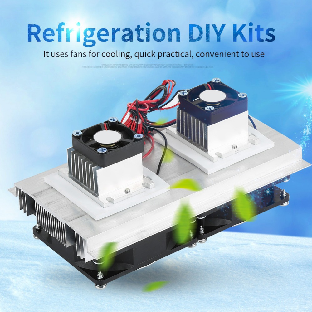 TEC1-12706 Semiconductor Refrigeration Cooling Device Thermoelectric Cooler 12A 12V DIY Mini Fridge