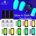 Saviland 1pcs Colors Nail Lacquers Fluorescent Luminous Neon Glow In Dark Varnish Nail Art Polish Glow in Dark Esmalte
