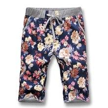 Новое лето 2017 Для мужчин Шорты для женщин пляжные Повседневное Для мужчин Шорты для женщин модные дизайнеры цветы Для мужчин Шорты для женщин плюс Размеры 5XL лидер продаж, Бесплатная доставка