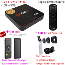 2019 New Upgraded IPTV EVPAD 2S+ Smart Android TV Box & HK Taiwan Korea Japan SG Malaysia Thailand Free TV 600+ Live Channels