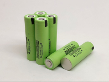 10PCS/LOT New Original 18650 3.7V 2200mAh Rechargeable Lithium Battery (CGR18650CG) Batteries Free Shipping