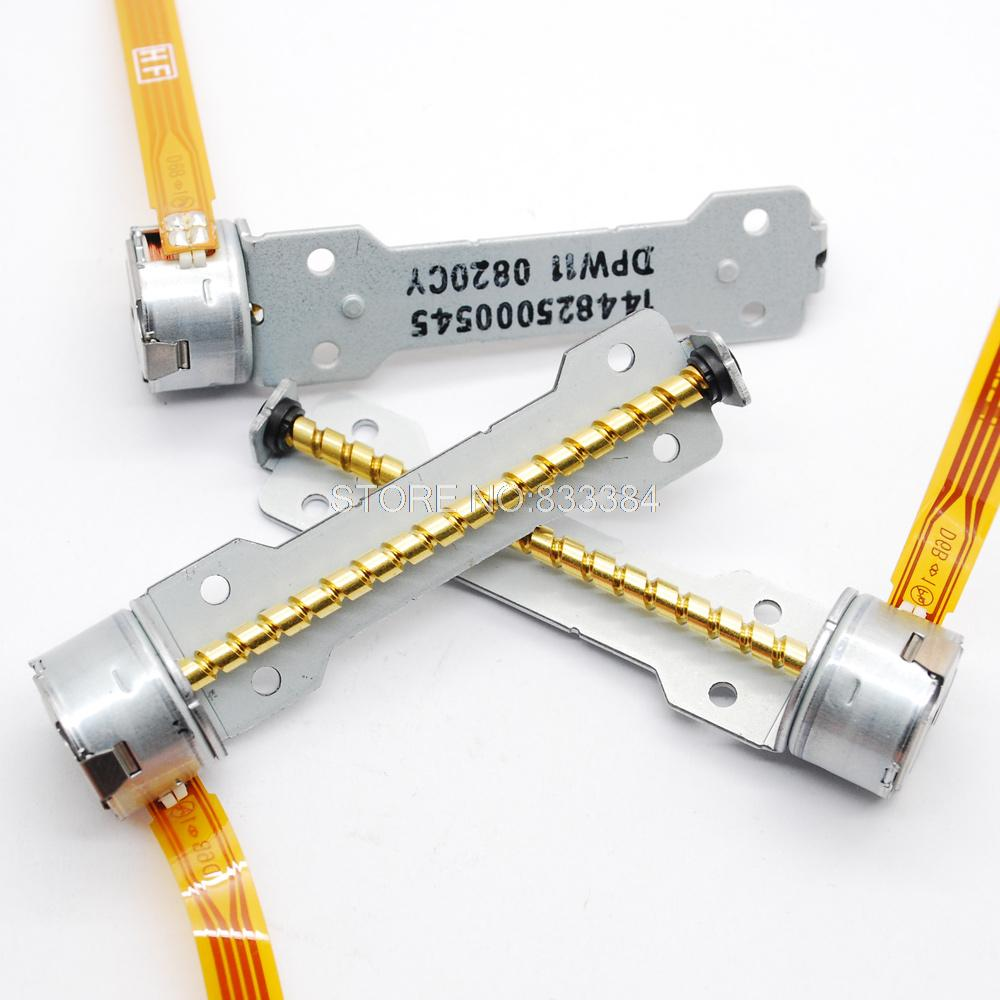 5pcs 3 V-6 V 4 провода 2-фазный шаговый двигатель постоянного тока микро мотор шагового двигателя диаметром 15 мм для контроля уровня сахара в крови с 50 мм Резьбовая шпилька