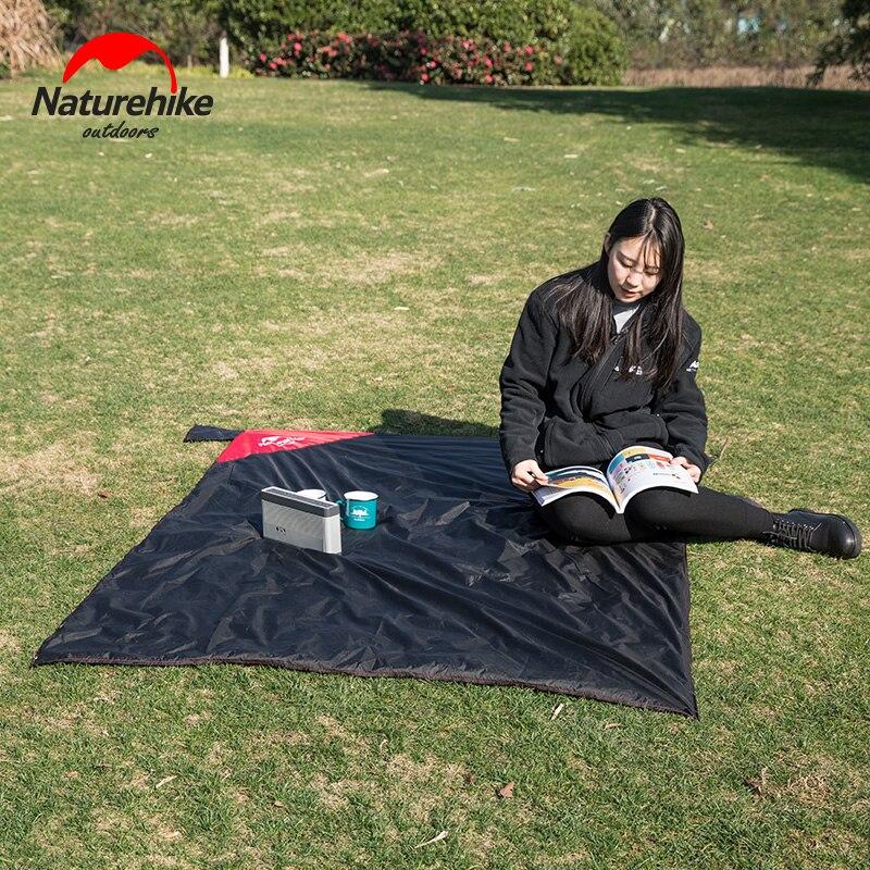 NatureHike открытый многофункциональный супер легкий карманный тканевый коврик двусторонний водонепроницаемый коврик для пикника