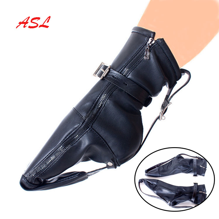 Связывающее устройство на молнии для ботинок, удерживающие ремни для ног, подвешивающие носки для ботинок, курчавые БДСМ бондаж, принужденн...
