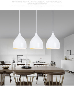 Image 3 - LukLoy Modern Pendant Ceiling Lamps Dining Table Lustre Pendant Lights Loft Lamp Hanglamp Nordic Hanging Kitchen Light Fixture