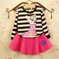 baby girls Clothing Set T shirts + Skirt 2 pcs Suit casual kids clothes suit kids clothing