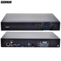 GADINAN FULL HD 16 Channel 1080P 16CH 960P 4CH 5MP NVR Support 2 SATA HDD XMEYE