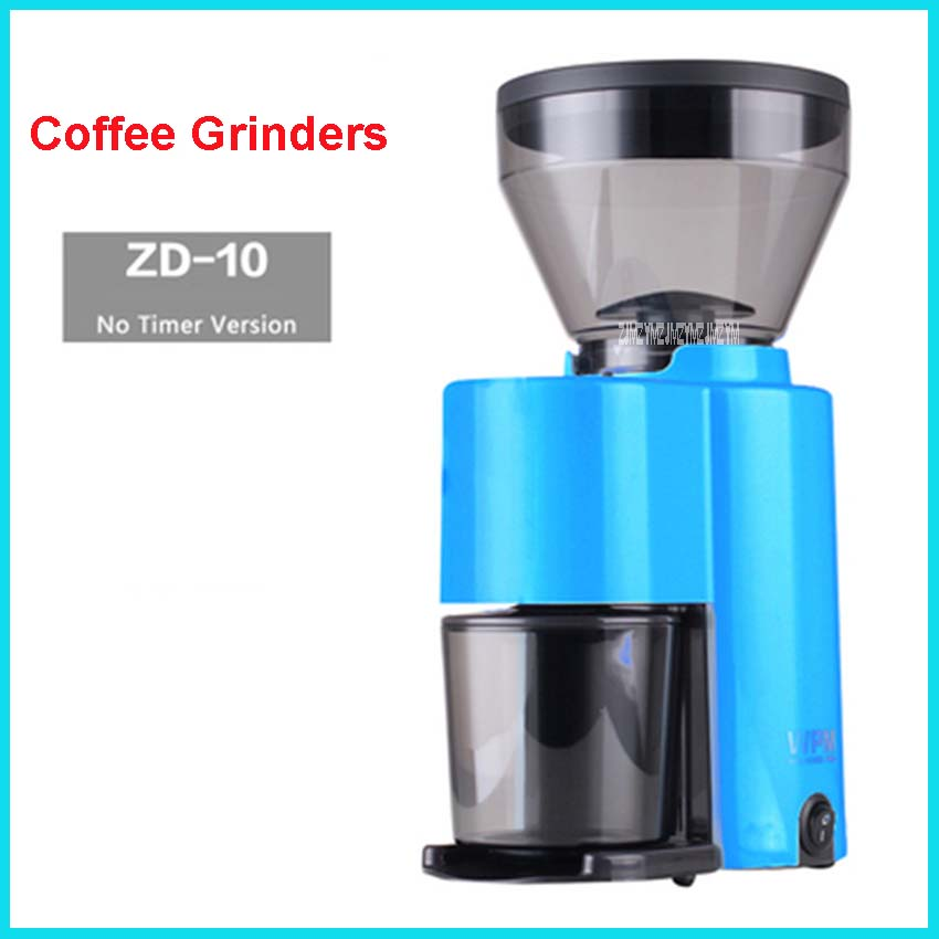 220V/50Hz electric coffee grinder 250g commercial and coffee grinder at coffee grinder mill machine professional machine ZD-10 xeoleo electric coffee grinder commercial