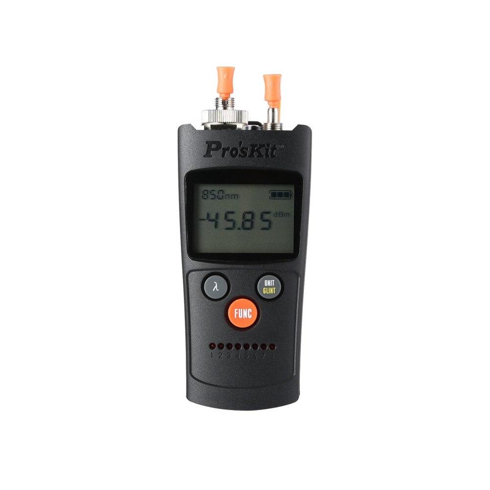 Pro'skit MT-7602 4 в 1 волоконно-оптический Мощность метр шесть волны Тесты сетевой кабель Тесты er Визуальный дефектоскоп светодио дный фонарик