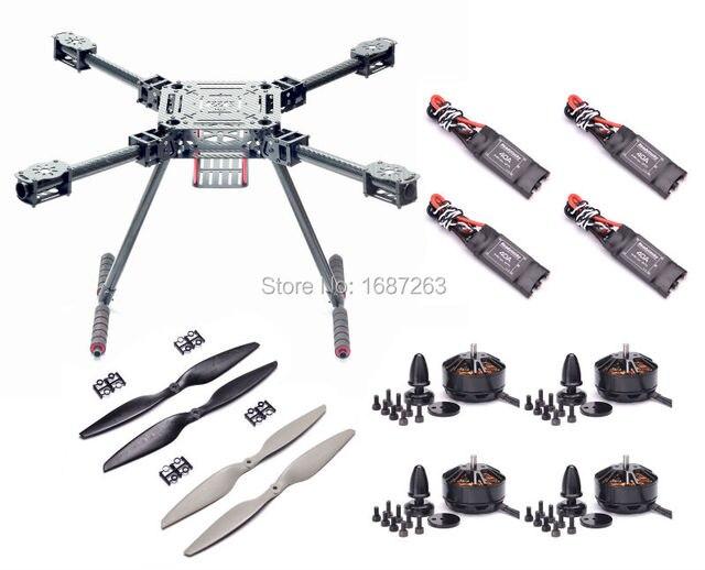 Upgrade F550 Zd550 550mm Carbon Fiber Quadcopter Frame Kit