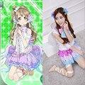 Японского Аниме Love Live Минами Kotori Косплей Женщины Хэллоуин Костюмы Для Женщин Angel Wing Лолита Платья На Складе QZ004