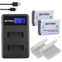 Batma2Pc NP-BX1 NP BX1 배터리 NPBX1 Bateria + LCD