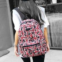 Одежда высшего качества цветочный холст рюкзак женщины Bagpack рюкзак школы моды случайные девушки Школьные ранцы холст рюкзак женщины